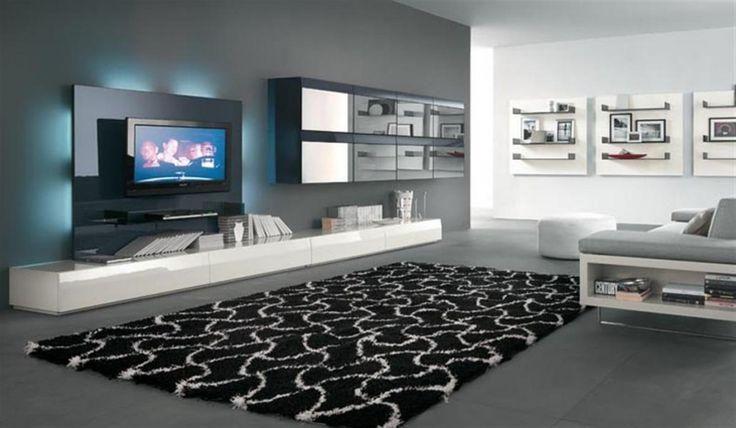 Modern Living Room For The Home Pinterest
