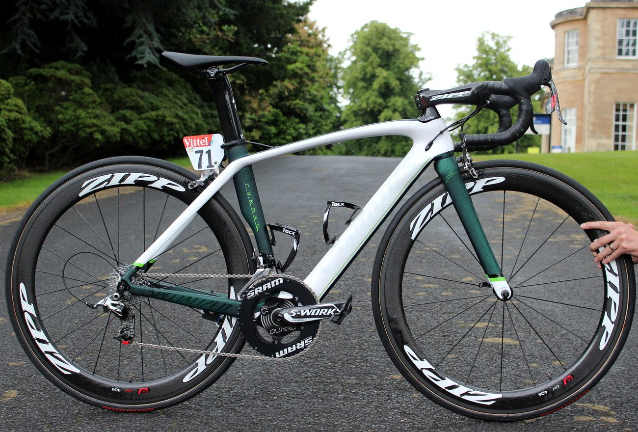 The bike on which mark cavendish s 2014 tour de france started and