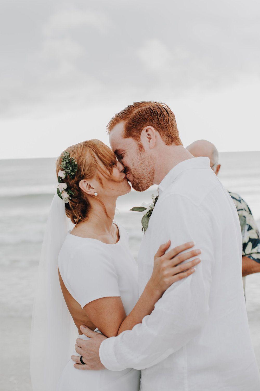 Beautiful naples florida elopement with beachchic