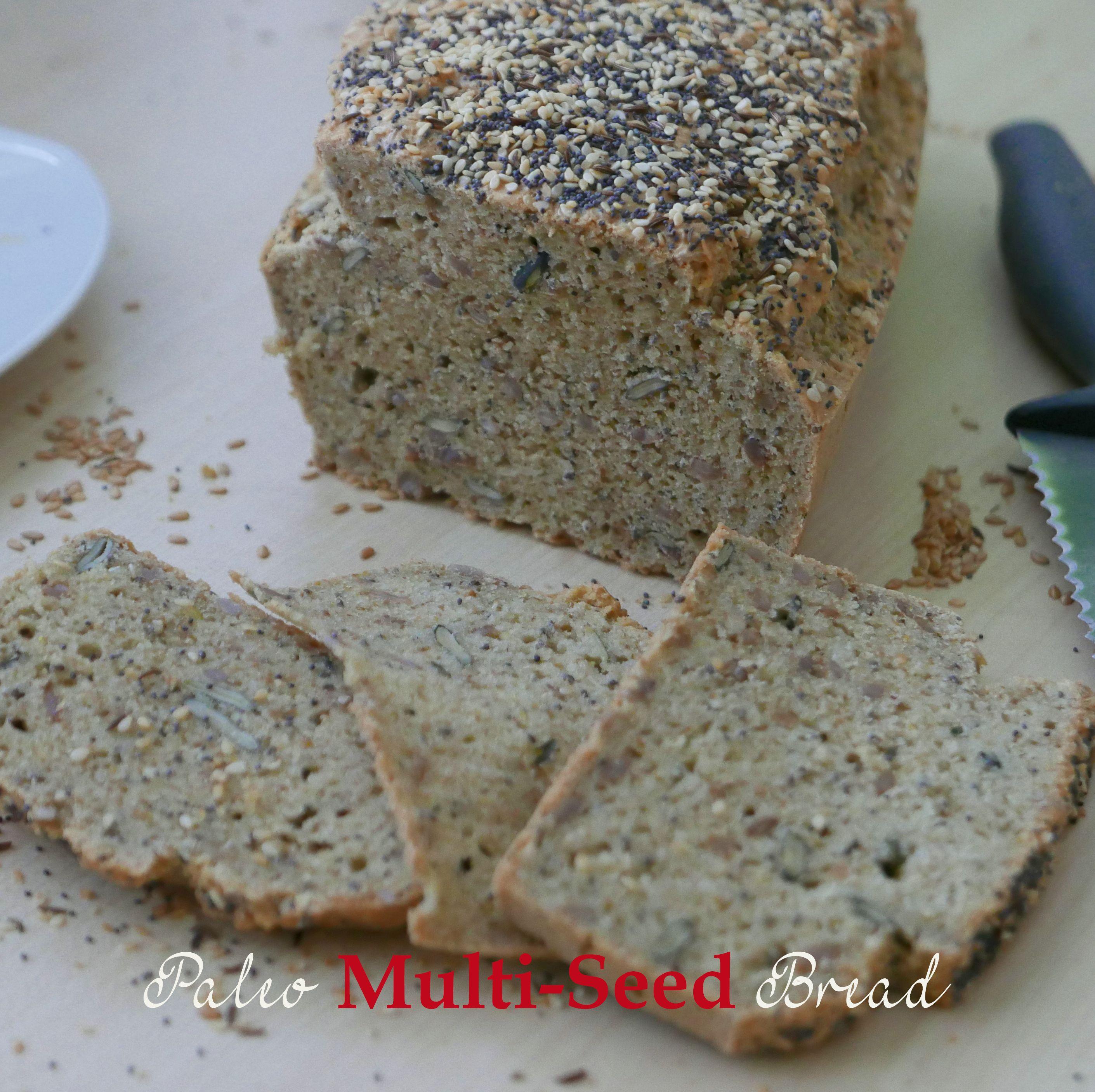 Paleo Multi-Seed Bread | Paleo, Keto, Gluten-Free,