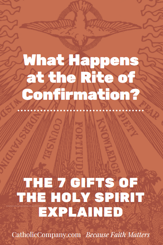 If you've received the Sacrament of Confirmation , you have these seven supernatural gifts of the Holy Spirit. Remember whose you are!