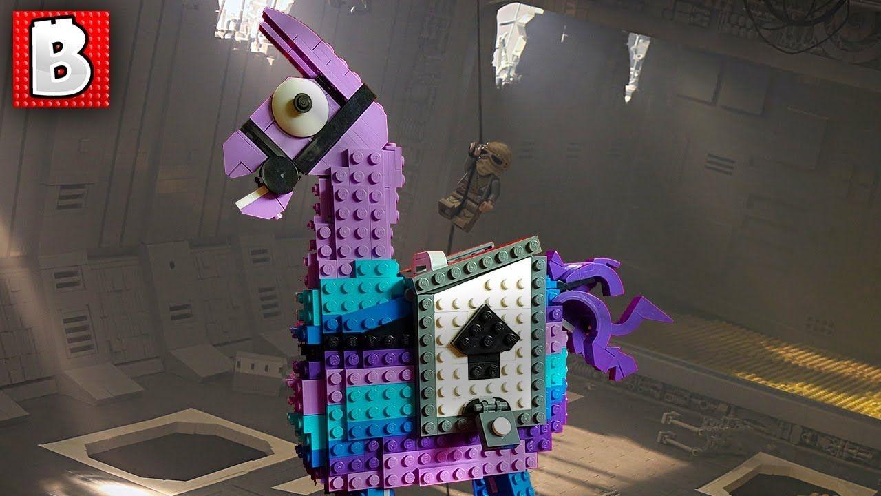 fortnite loot llama on a jakku star destroyer top 10 mocs of the week - llama de fortnite minecraft