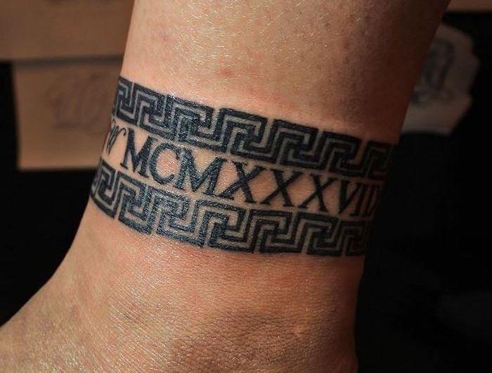 Tatouage Bracelet Cheville Le Tattoo A La Chaine Tattoo S