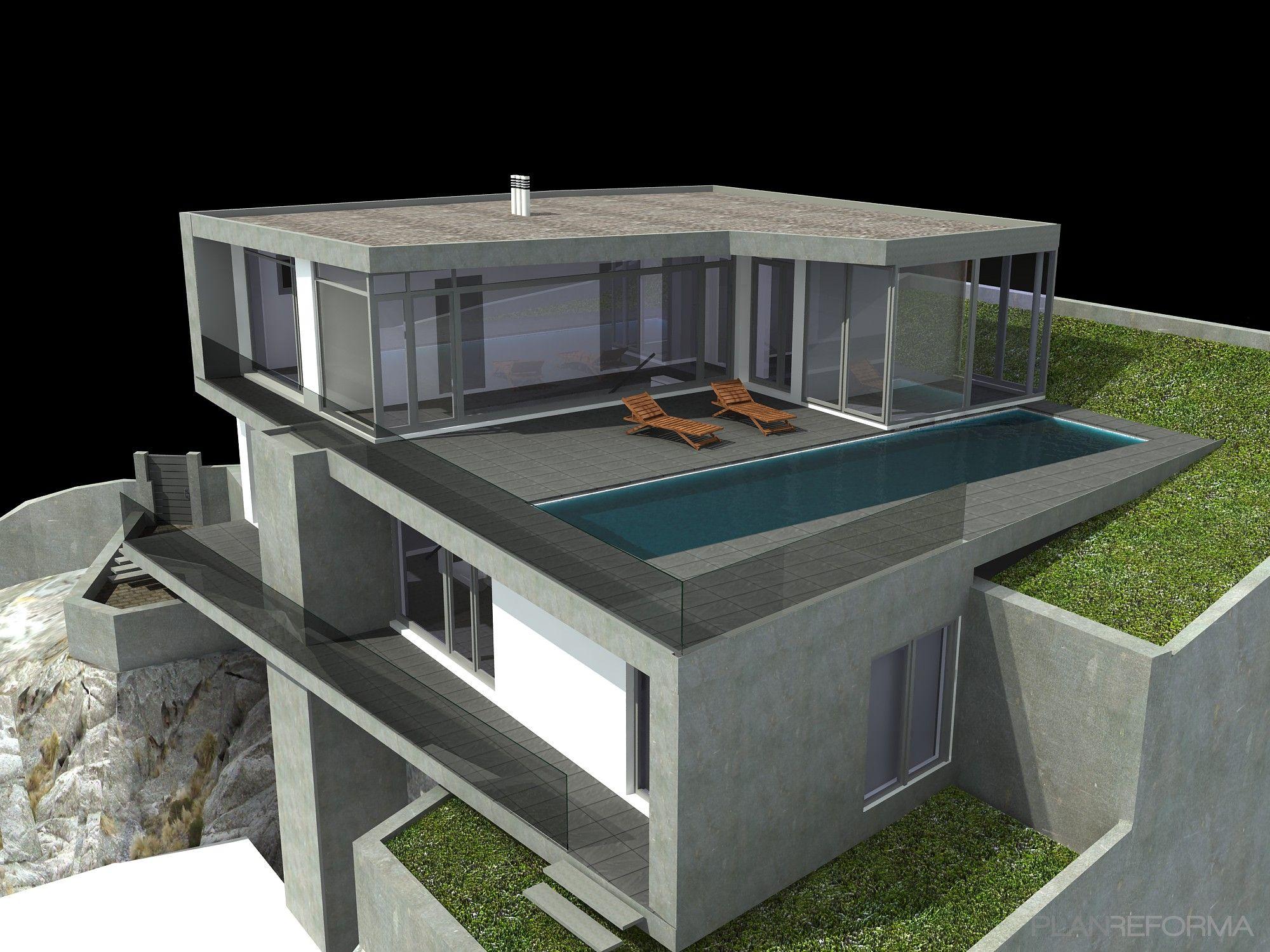 Estilo De Casa De Terraza