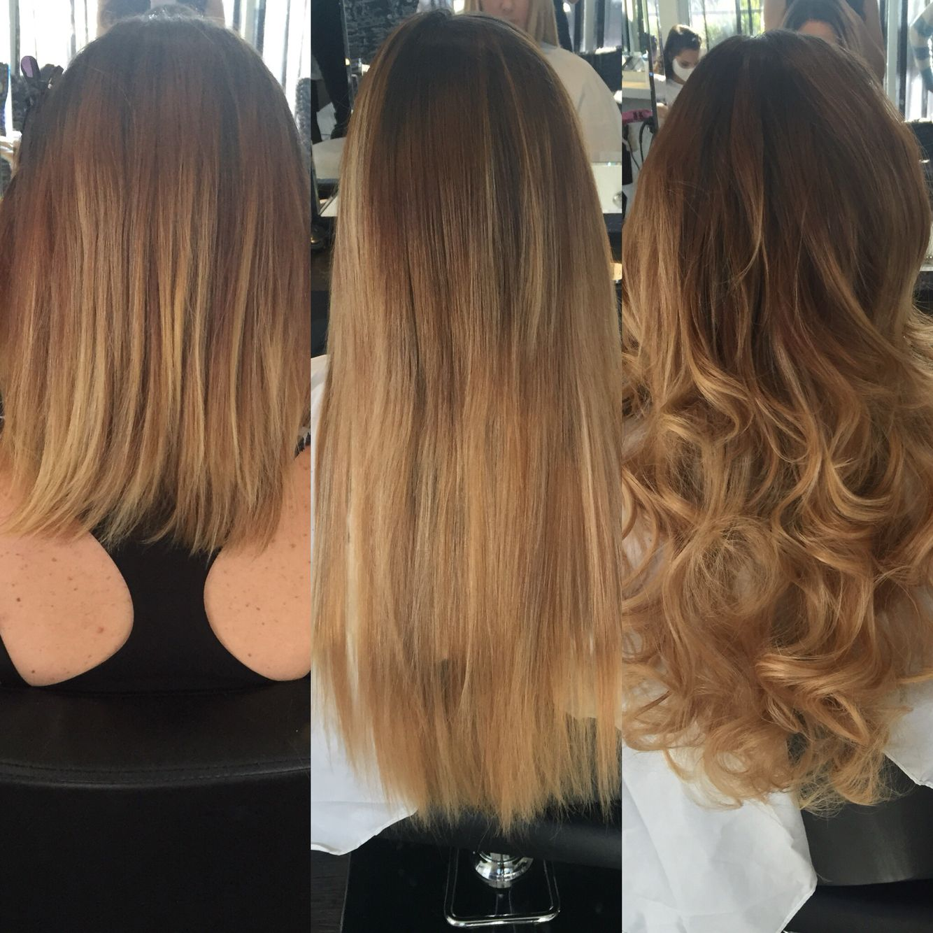 Tapeextensions Hair Extensions Before And After Hair