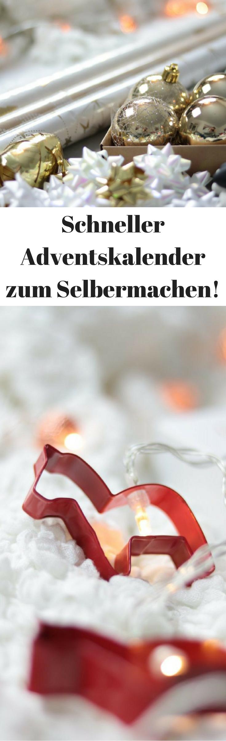 Selbstgemachter Adventskalender - Die besten Ideen zum Befüllen! #adventskalendermann