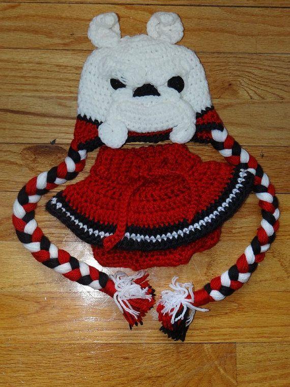 c6fcba7c5 Crochet georgia bulldogs hat and diaper cover astitchsouth jpg 570x760  Georgia bulldog crochet hat