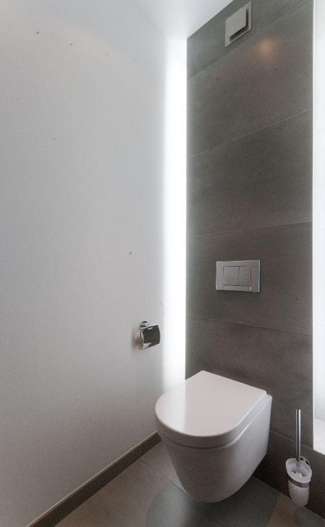Indirecte verlichting toilet lampen pinterest for Indirecte verlichting toilet