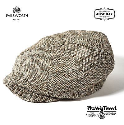 Mens Hats 163619  Failsworth Carloway Harris Tweed Sage Peaky Blinders  Style Newsboy Cap Hat -  BUY IT NOW ONLY   31.95 on eBay! f34213710c8