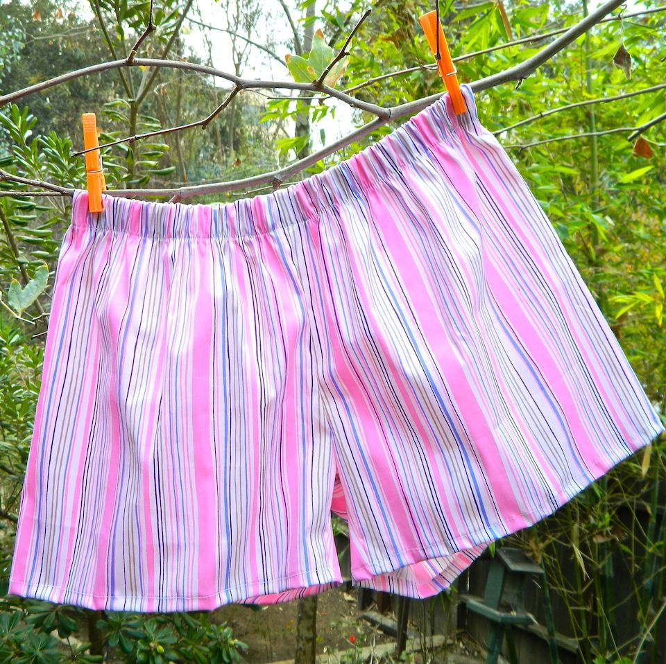 Learn to make boxer shorts in no time sew easy use any