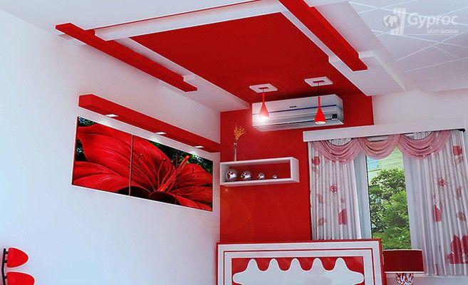 False Ceiling Designs For Bedroom   Saint-Gobain Gyproc ...