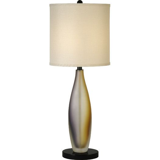 trend lighting corp elixer 32 h table lamp with drum shade