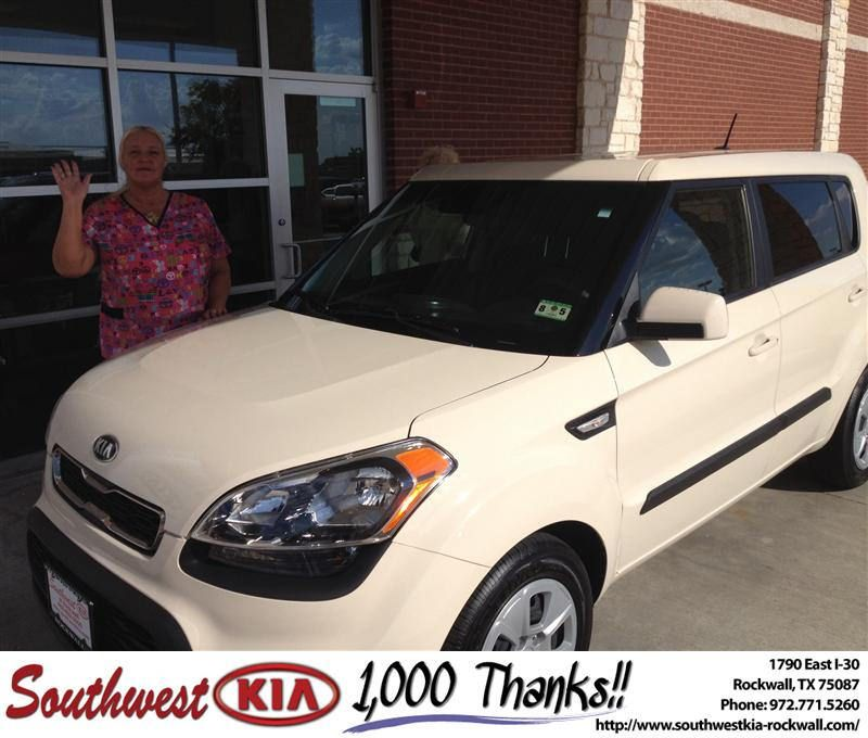 Southwest Kia Rockwall >> Congratulations to Theresa & Pamela Hines on your #Kia #Soul purchase from Kathy Parks at ...
