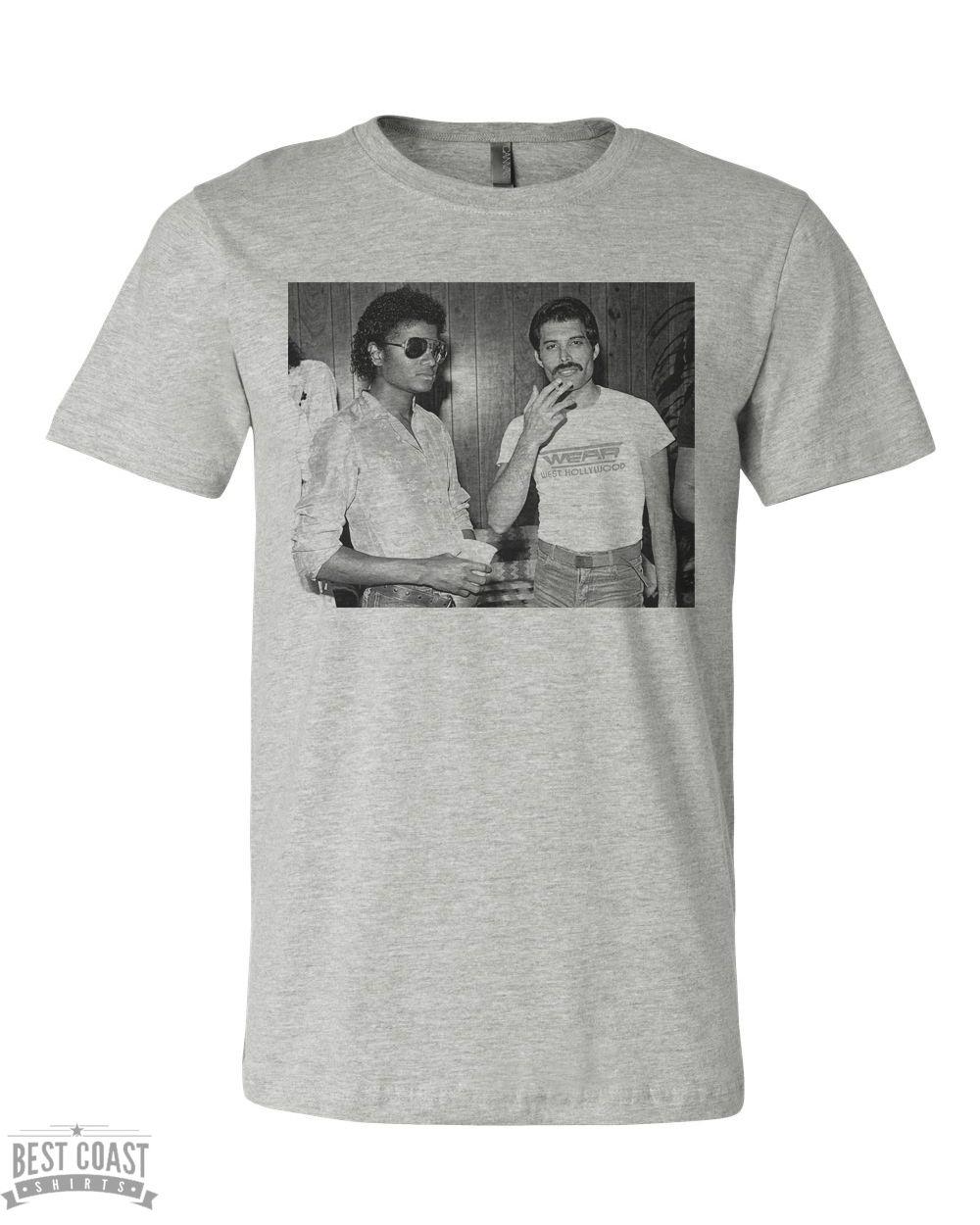 fc212b0d73 Michael Jackson Freddie Mercury Mens T Shirt | Men's Collection ...