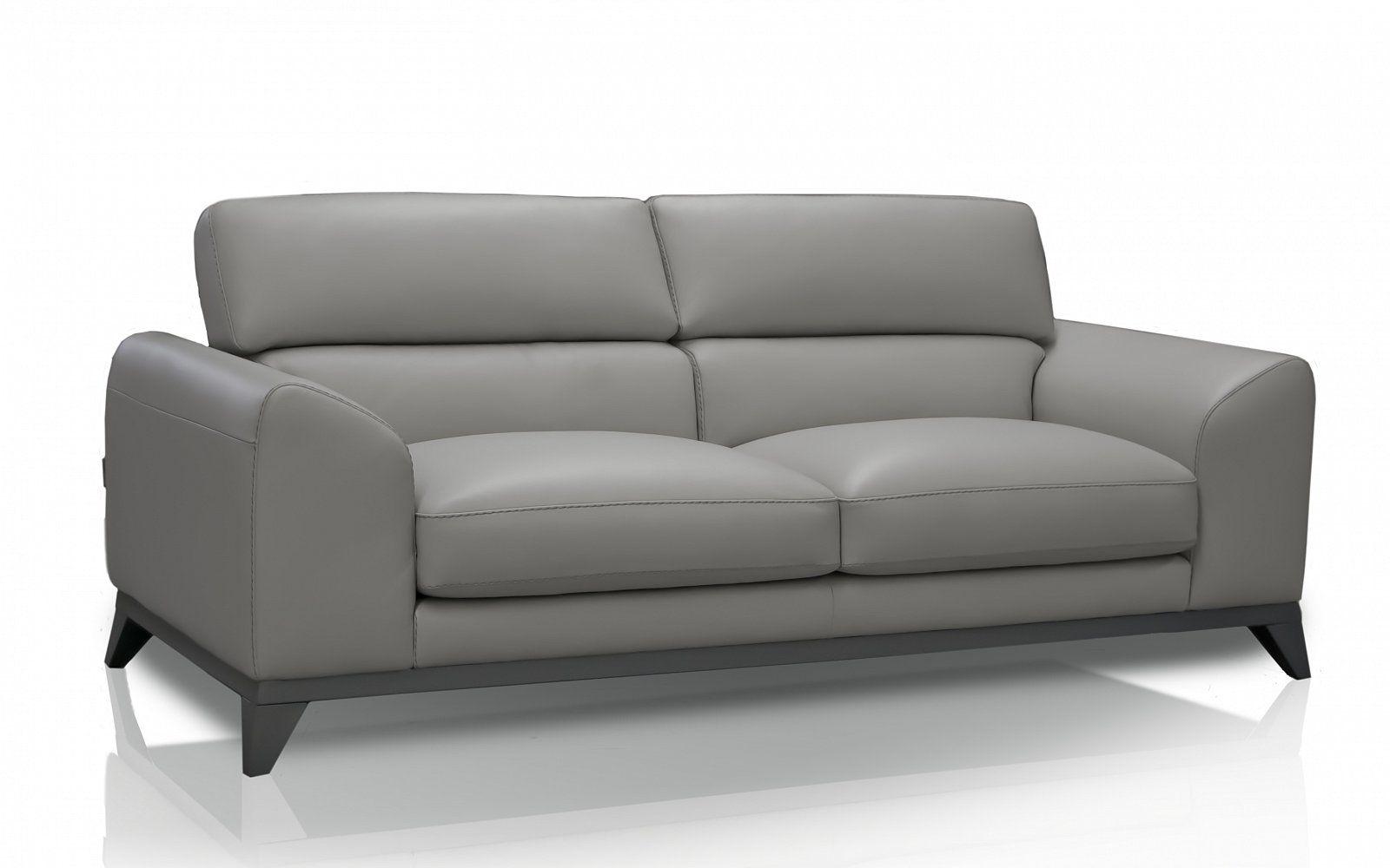 divano in pelle grigio due posti - Cerca con Google | divano ...