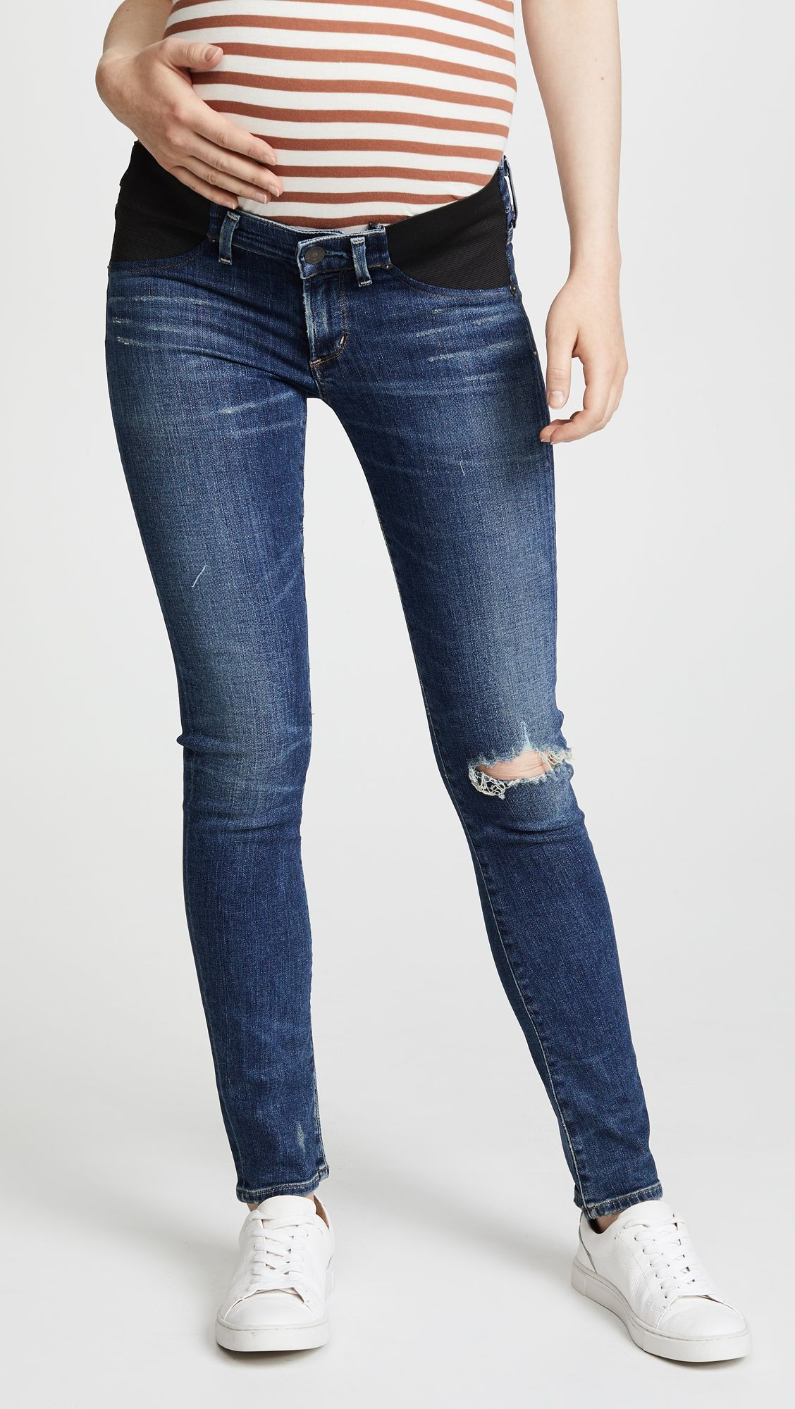 21831f0183c94 Citizens of Humanity Racer Ultra Maternity Skinny Jeans | Products ...