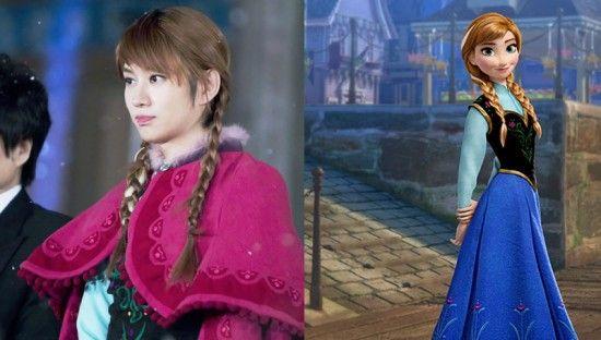 Disney Princesses And Their Idol Counterparts Heechul Disney Princess Kim Heechul