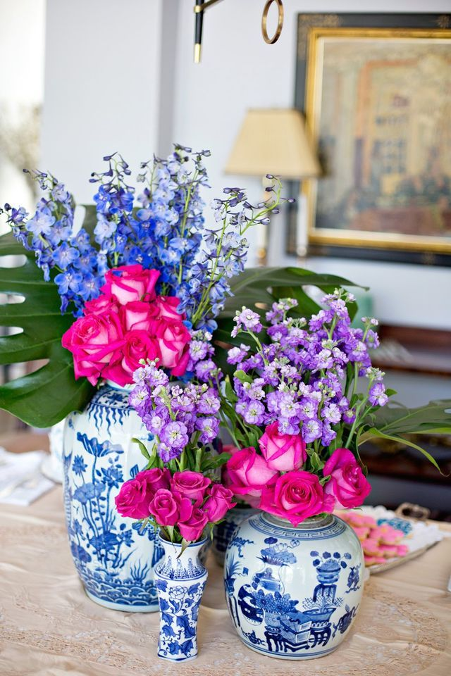 Blue and White Chinoiserie Inspired Party
