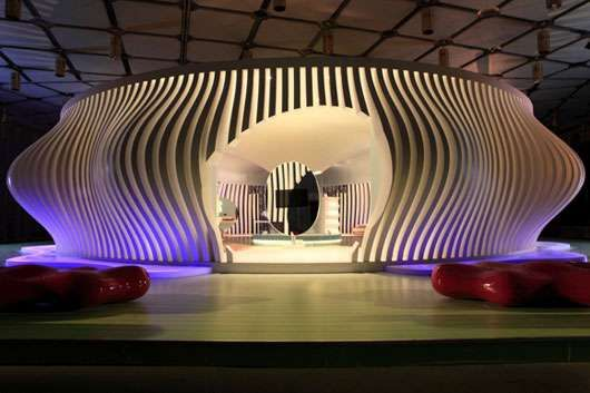 Ultra Eco Finned Housing - Karim Rashid Designs the Futuristic Komb Home
