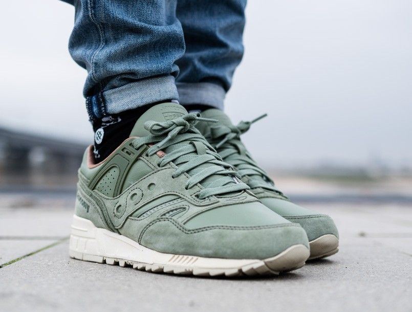 259ec3ddf5dc Saucony GRID SD  Garden Pack  oiled green 2