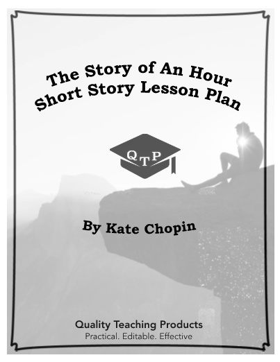 The Story Of An Hour Lesson Worksheet And Key Short Literature Teaching Essay On