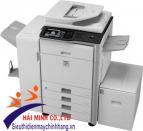 Máy photocopy Sharp MX-M452N là dòng máy đa chức năng: COPY/IN MẠNG/SCAN MẠNG [MÀU]. Một giai pháp hoàn hảo, chuyên nghiệp cho văn phòng lớn, máy sử dụng khổ A3 với tốc độ copy/ in lên đến 50 trang/ phút.