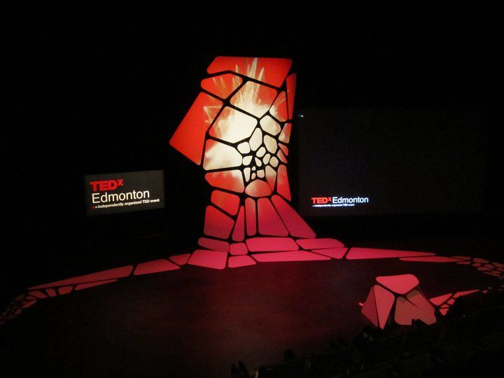 Interesting stage design at TEDxEdmonton | Superlatively ... - photo#22