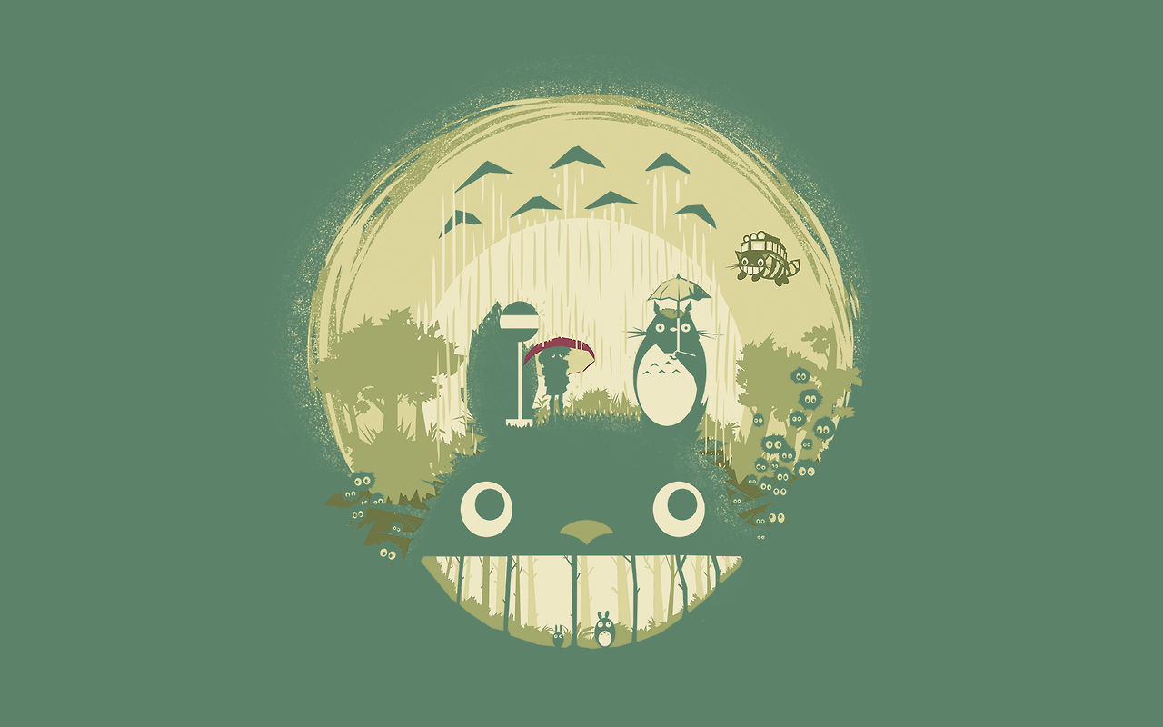 Desktop Wallpaper My Neighbor Totoro