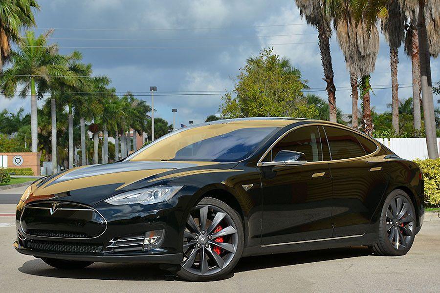 2014 Tesla Model S P85+ Loaded! Carbon! Air Suspension