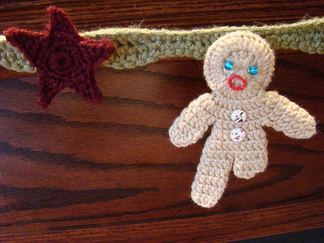 Ravelry: Gingerbread Ornaments pattern by Myra Ann Shaw   Aplikace ...