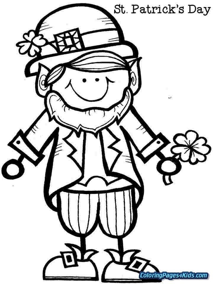 Girl Leprechaun Coloring Pages Coloring Pages For Kids