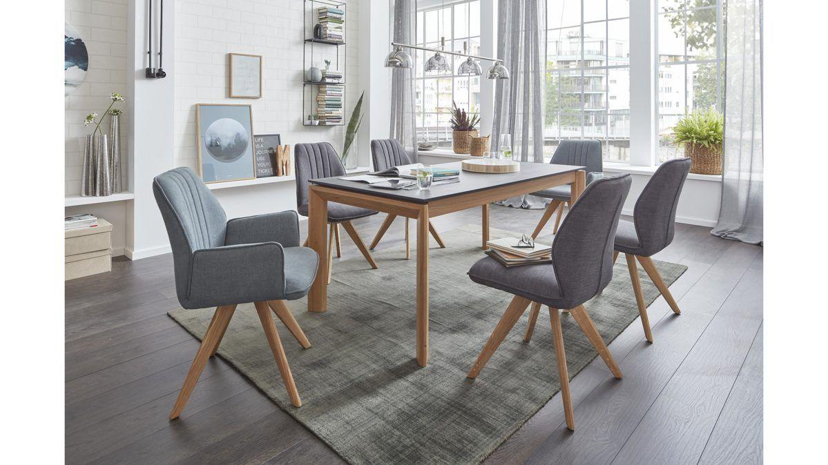 Esszimmer Stühle Gepolstert Kernbuche