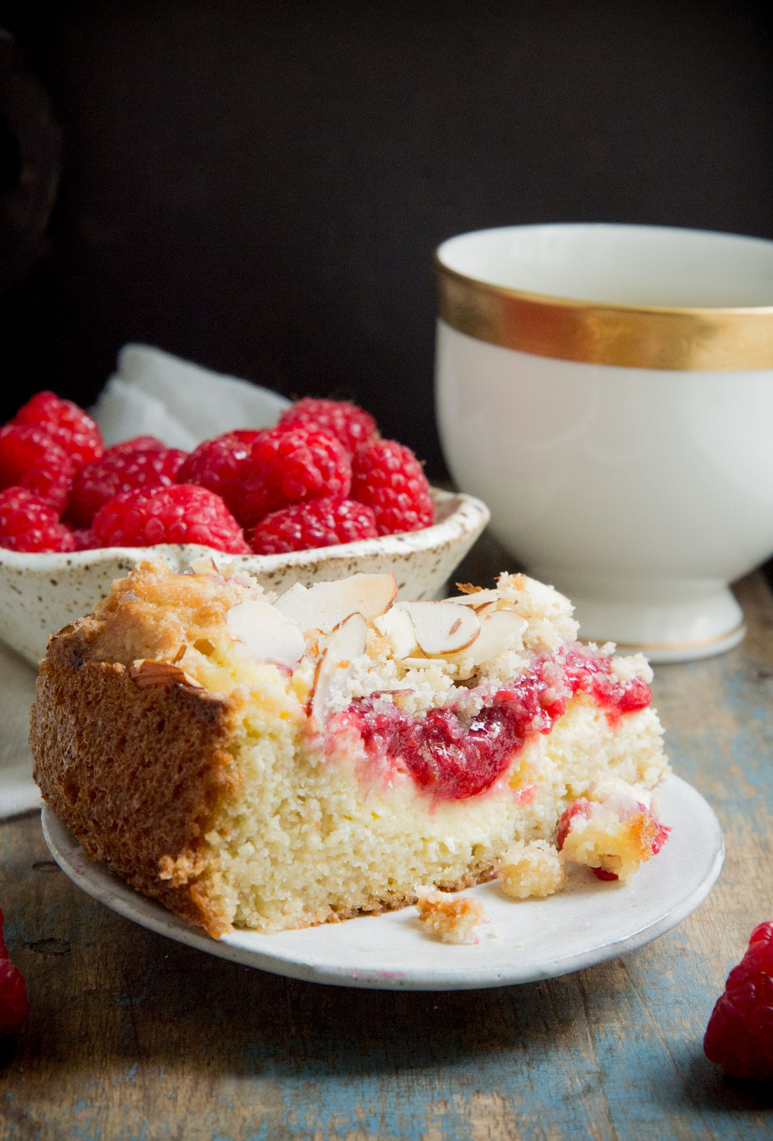 Keto Raspberry Cream Cheese Coffee Cake – Simply So Healthy