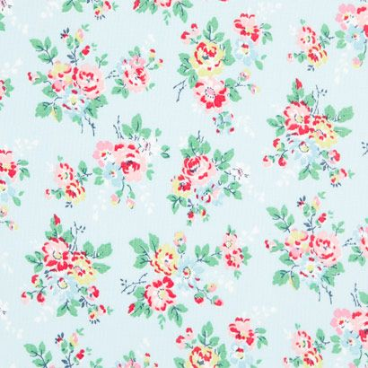 Oilcloth Fabric Kingswood Rose Oilcloth Cathkidston