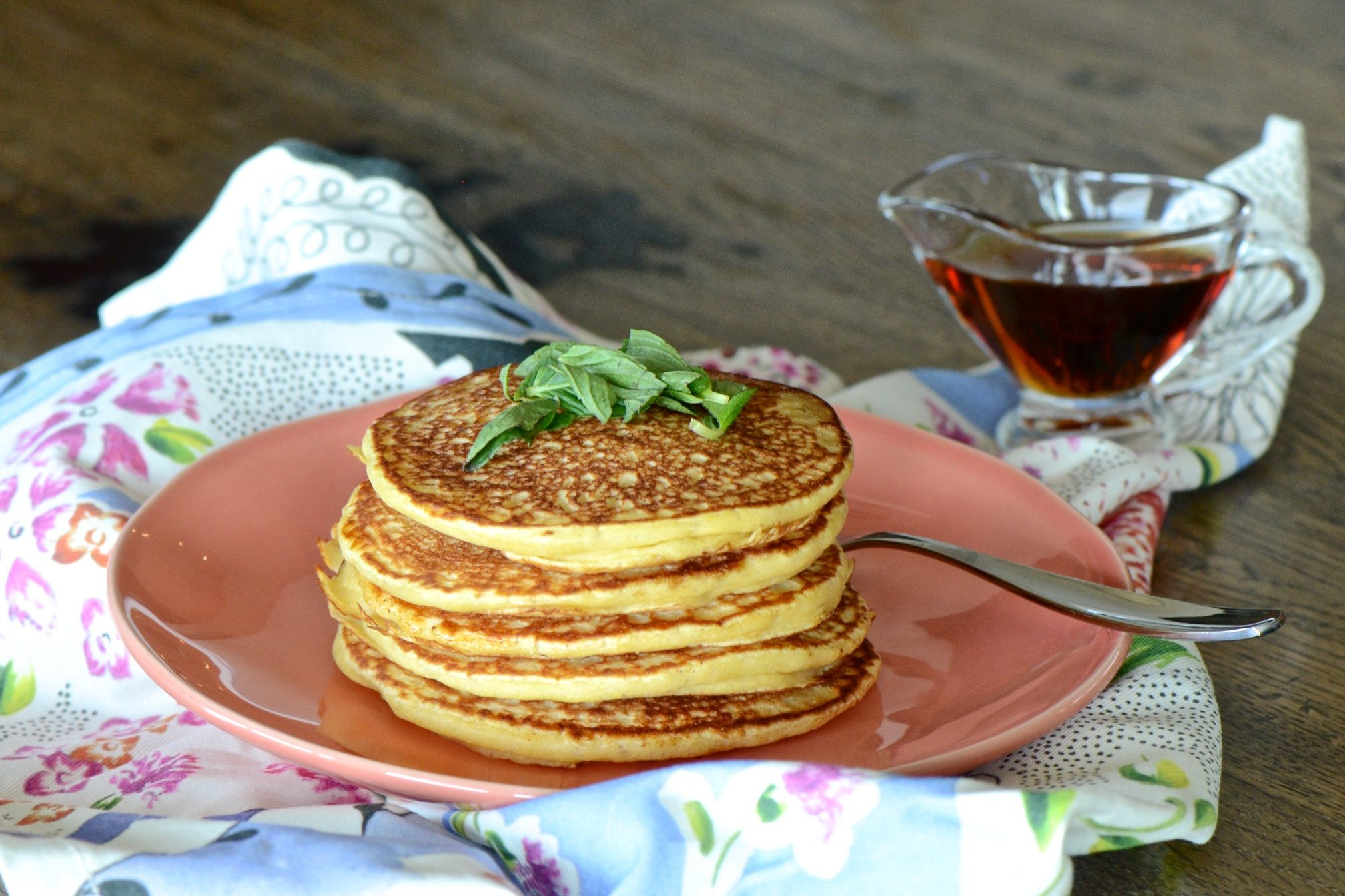 Fermented Pancakes Vegan No Oil No Eggs No Dairy No Sugar Try With Whole Wheat Flour In Place Of White Whole Foods Vegan Pancakes Vegan Pancake Recipes