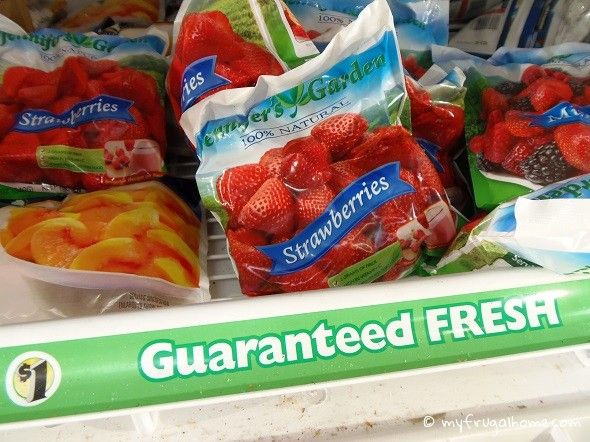 Foods To Buy At Dollar Tree Frozen Fruit Snacks Low Carb