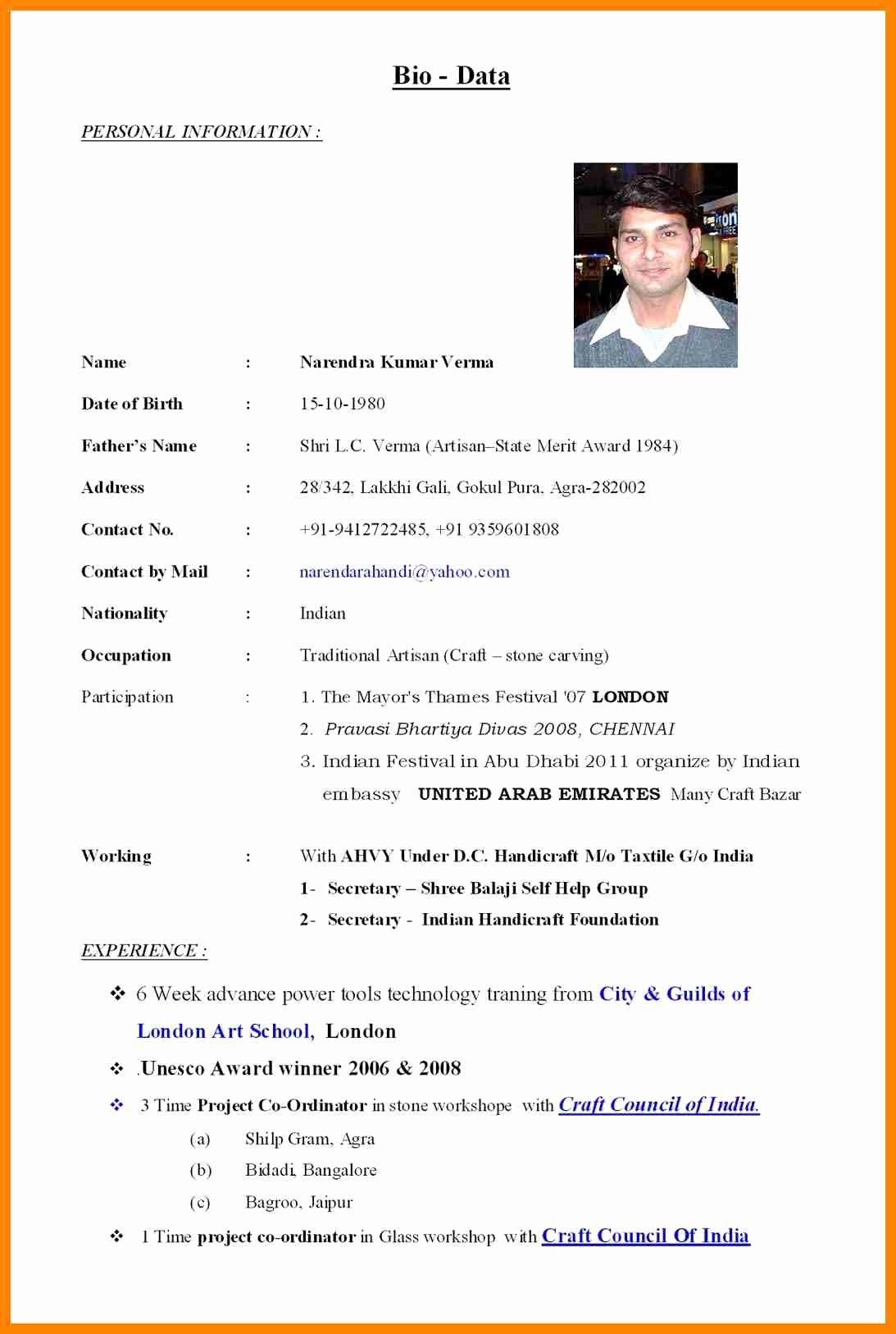wedding resume format elegant marriage pdf within marriage biodata template for boy
