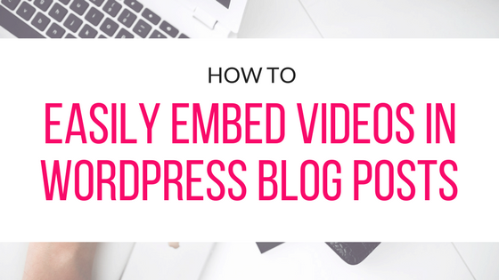 Learn how to easily embed videos in WordPress blog posts quick and easy. This step by step guide will make you a pro in embedding videos in no time.