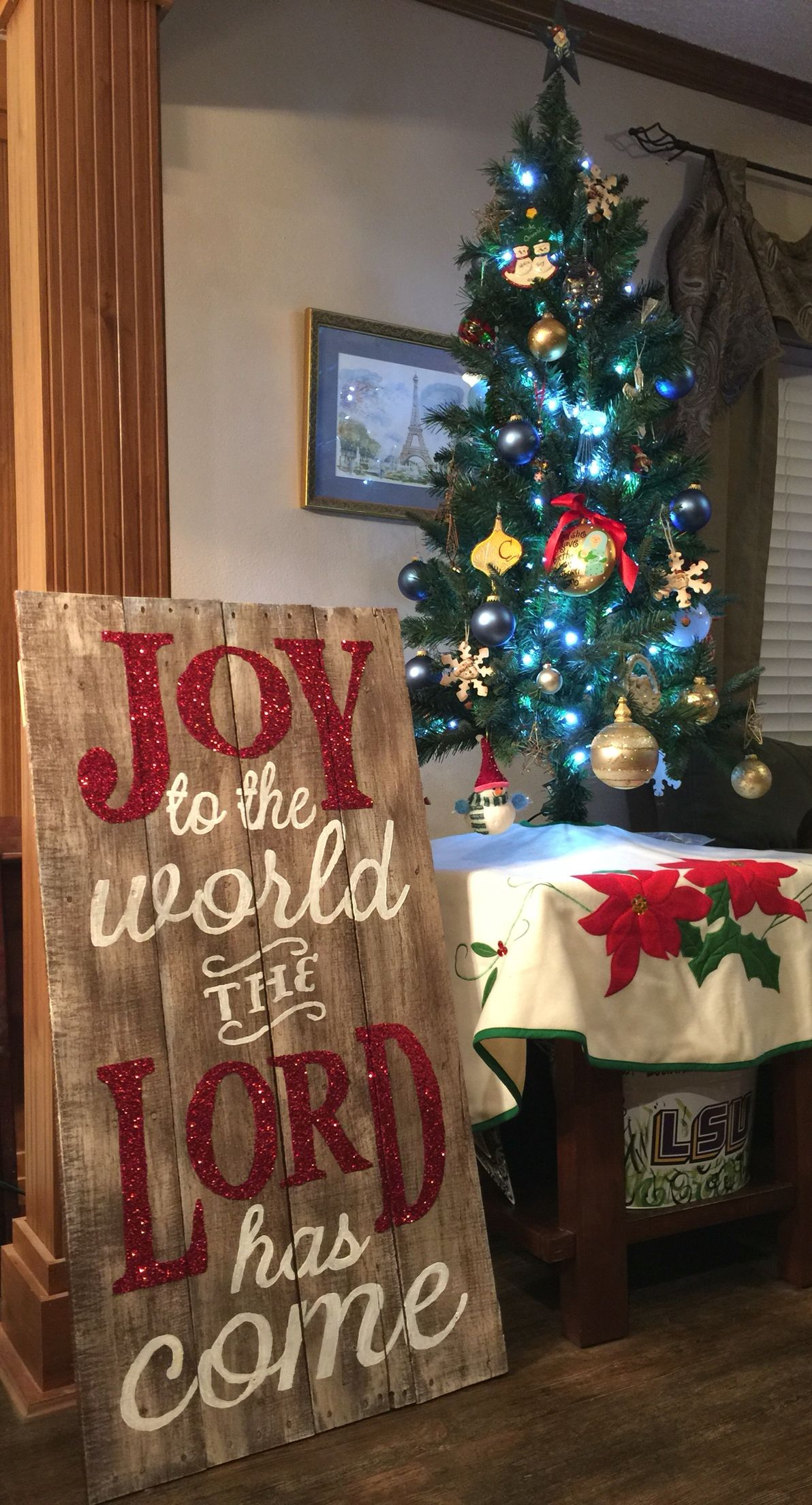 Christmas pallet project