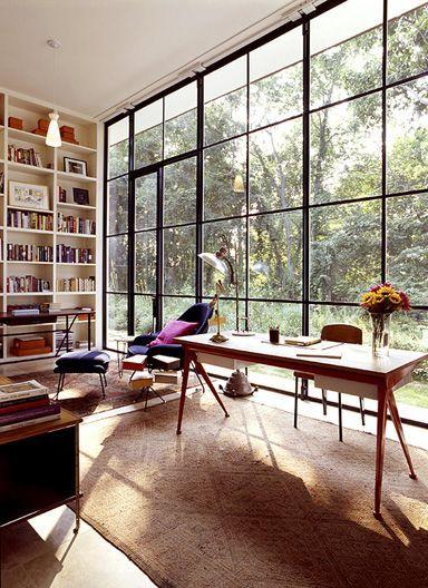 Living #room with #glass #wall    #Wohnzimmer mit #Glaswand Home - wohnzimmer mit glaswnde