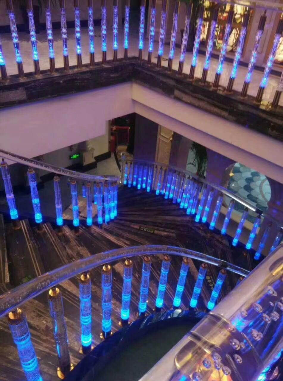 Best Acrylic Stairway Acrylic Stair Column And Acrylic 400 x 300
