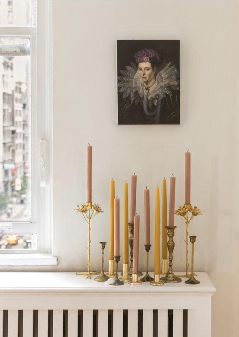 Deco-Ideen mit Kerzen #houseinteriorrustic