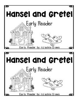 Hansel and Gretel Early Reader w/ Interactive Notebook