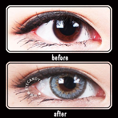 Gray Circle Lens Colored Contacts Contact Lenses Colored Colored Contacts Cosmetic Contact Lenses