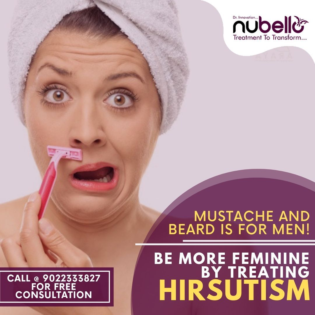 Call Now to Book an Appointment 📞 9022333827 hirsutism