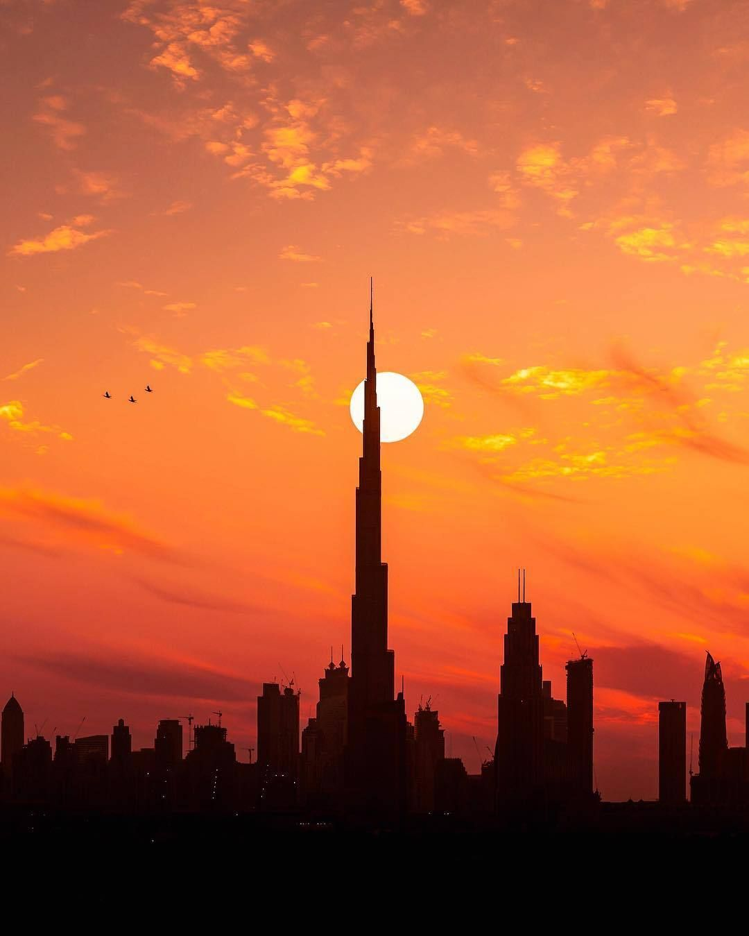 UAE Voice — Sunset at the Emirates,UAE | United Arab Emirates in