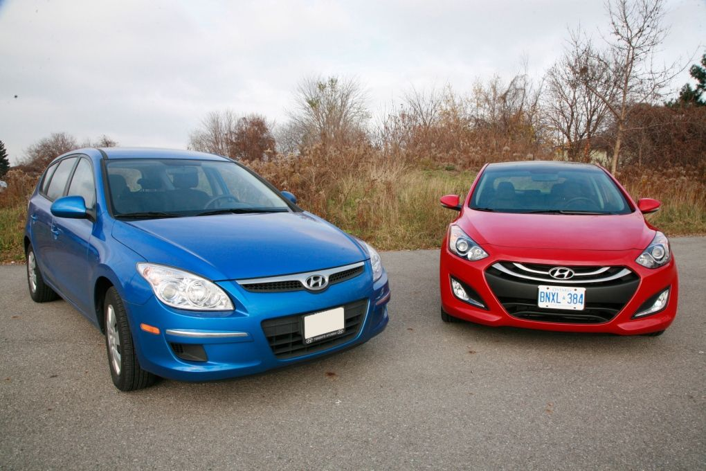 The Elantra GT returns to Hyundai\'s lineup this year, replacing the ...