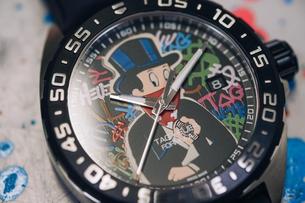 Tag Heuer Unveils Special Alec Monopoly Edition Watch Watches