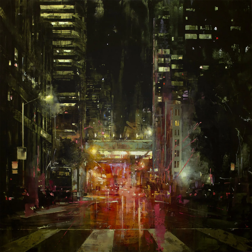 City Streets: Paintings By Lindsey Kustusch