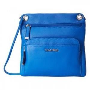 62% off Calvin Klein - Crossbody Bag Ruby Leather Cornflower - $51.99